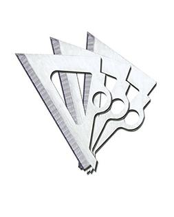 Muzzy Broadheads New Replacement Blades for Trocar Series 3