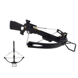 SAS Panther 150lbs Compound Crossbow 280 fps Black with 4 Al