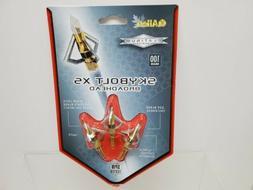 Allen Skybolt XS Chisel Point Thick Blade Broadhead, 100 Gra