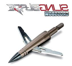 NAP Slingblade Crossbow Mechanical Broadhead 2 Blade 100 Gra