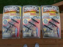 Rage Slipcam Broadheads, 2 Blade 2.0, 125 Grain 3 Packages +