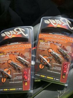 """Rage Slipcam Hypodermic Crossbow 125 Grain 2""""+ Cut R39700"""