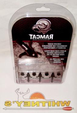Ramcat Smoke Small Game Head 100 Grain 3 Pack
