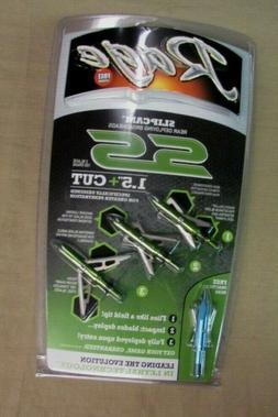 "Rage SS 2 Blade 100 Grain Broadheads , 1.5"", Green"