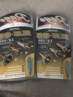 Rage SS 2 Blade Broadhead 85 Grain , Gold