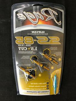 "Rage SS 85 2 Blade 1.5"" Cut Broadheads 3 Pack Brand New"
