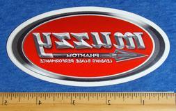 Muzzy Sticker Hunting Phantom Broadhead Archery Bumper Bowhu
