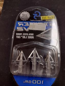 G5 Striker V2 100 Grain Deep Six Broadhead - 3 Pack