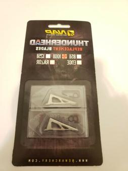 NAP Thunderhead  Broadheads  100/Grain Replacement Blades