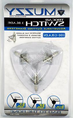 Muzzy Trocar Switch 3 Blade 100Gr Broadhead