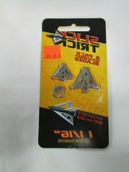 Slick Trick 1-1/16in VT Extra Blades 100/125gr 4 pack