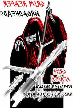 """GRIM REAPER """"Whitetail Special"""" RAZORCUT - 3 Blade  100 gr"""