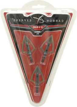 Carbon Express XT 4-Blade Broadhead, 100 Grain Weight, 3-Pac